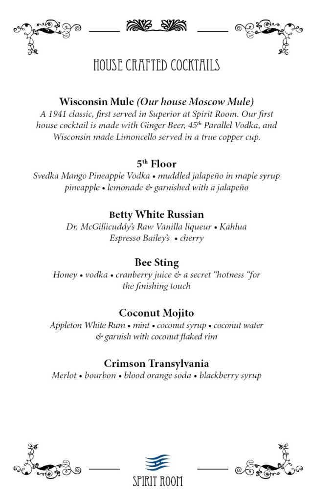 House Crafted Cocktails 2017  Page 1