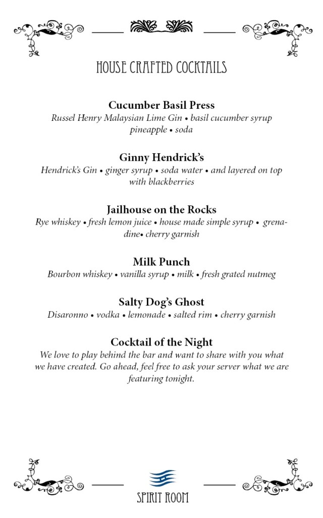 House Crafted Cocktails 2017 Page 2